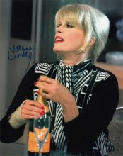 Joanna Lumley signed 10 x 8 colour photo. Superb p