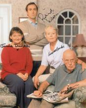 One Foot In The Grave Cast signed 10 x 8 colour ph
