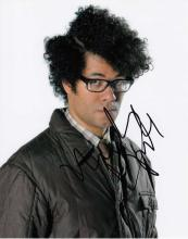 Richard Ayoade signed 10 x 8 colour photo. Great s
