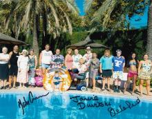 Benidorm cast signed 10 x 8 colour photo. Superb p