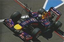 Sebastian Vettel autographed photo. High quality 8