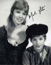 Mark Lester signed 10 x 8 black and white photo. N