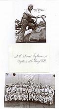 Captain Stanley W. 'Swede' Vejtasa USN. Signature