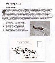 Squadron Leader/Captain Robert H. Neale. Signature