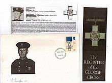 Mr Harry Errington GC Signature and copy of