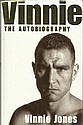 Vinnie Jones signed bookplate on inside front