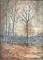 Horace Sequeira artist Original Watercolour 16 x