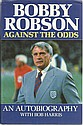 Bobby Robson signed bookplate on inside front