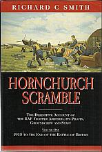 Hornchurch Scramble signed book the definitive