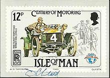 Tony Theobald stamp artist signed set of six