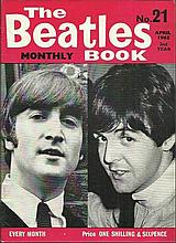 Beatles Monthly Book No 21 April 1965. Good