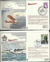 Concorde Flown cover, Stamp Collection in Blue