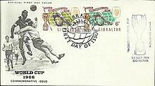 Rare 1966 World Cup FDCs from Bahamas and