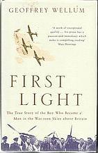 First Flight signed book by Geoffrey Wellum. 336