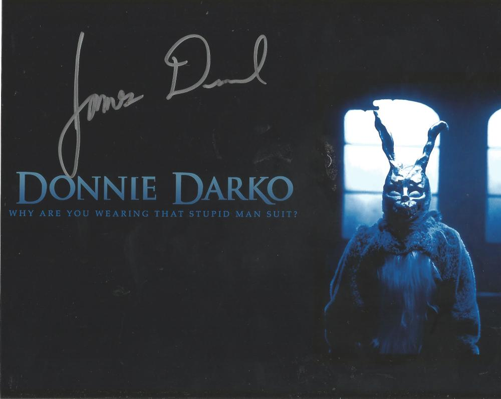 James Duvall Donnie Darko hand signed 10x8 photo. This beautiful hand signed photo depicts James