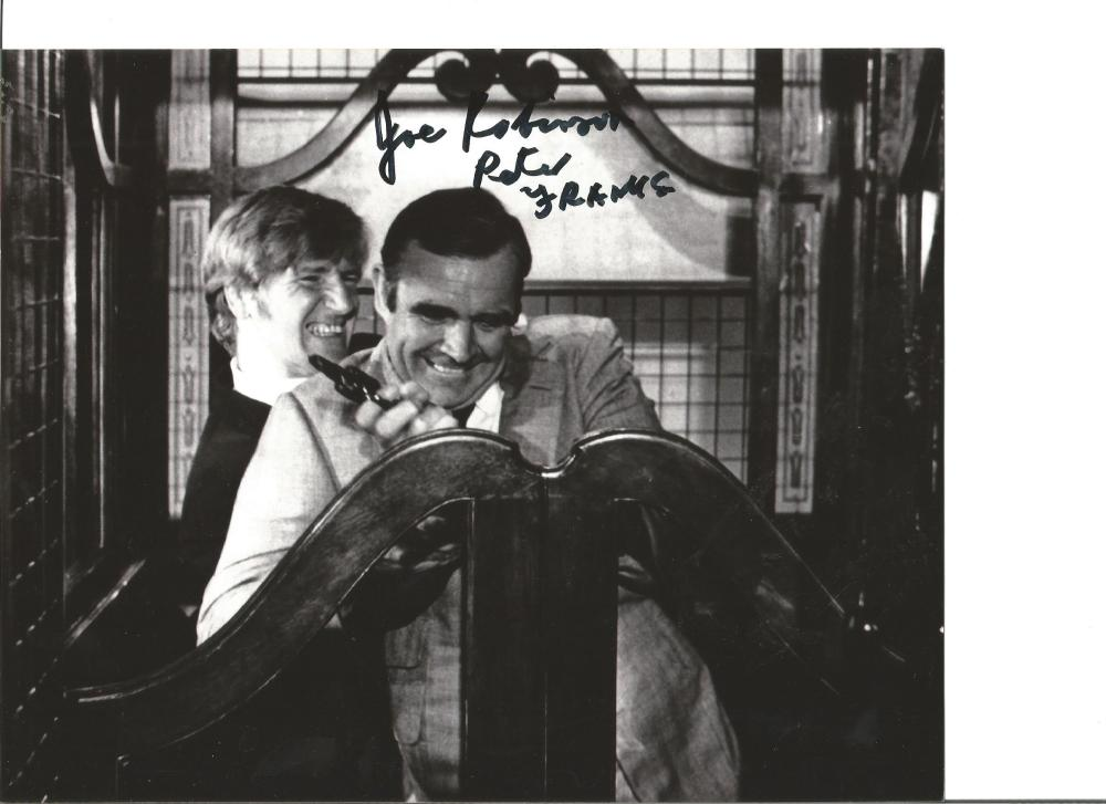 Joe Robinson signed 10x8 b/w photo from Diamonds are forever. Good Condition. All signed pieces come