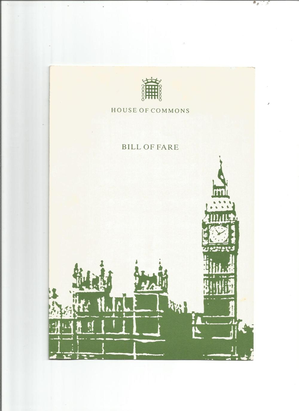 House of Commons collection. Contains 2 TLS's one signed by Jack Ashley the other by Robert Kilroy-
