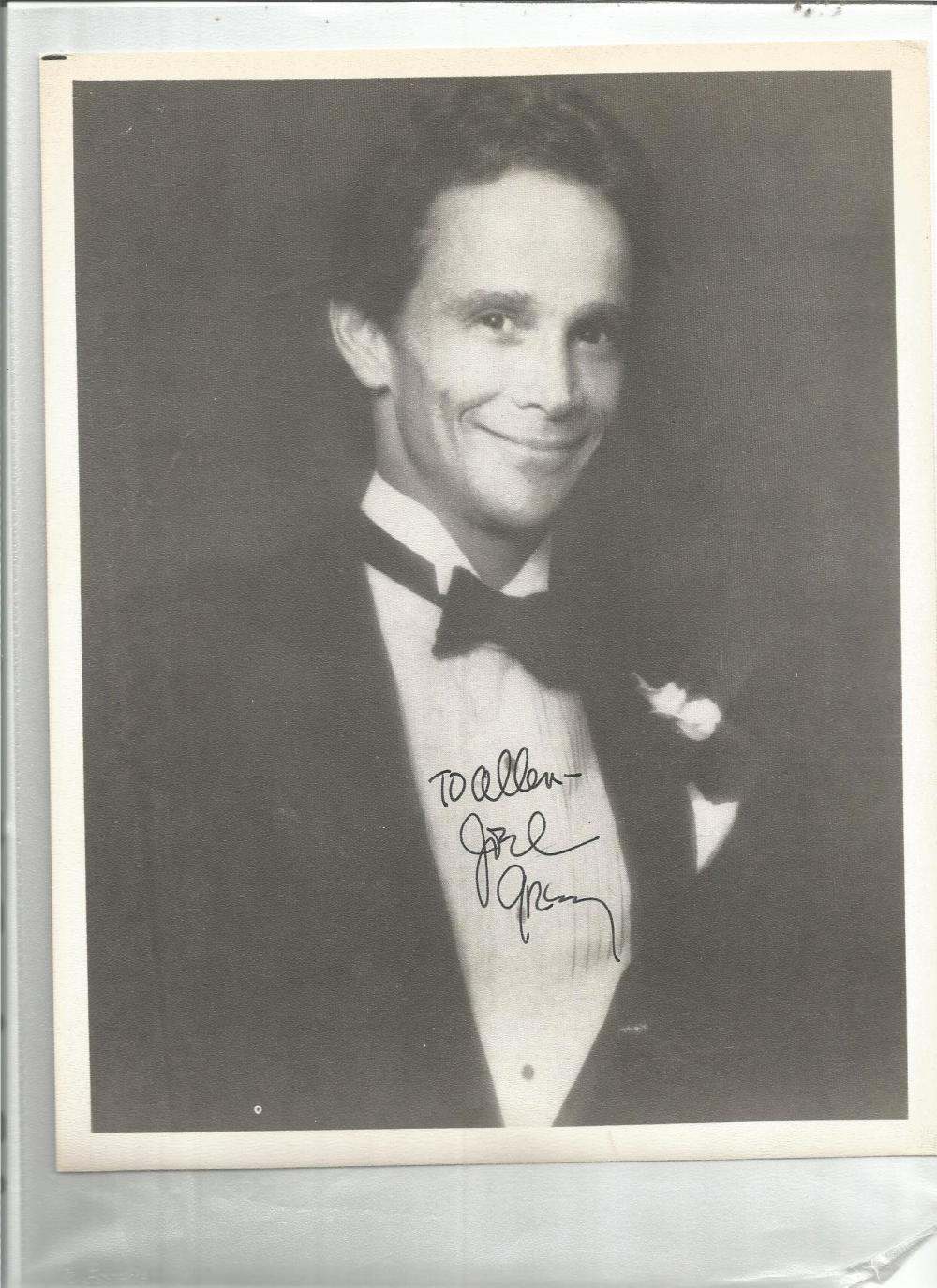Joel Grey signed 10 x 8 b/w photo to Allen. Good Condition. All signed pieces come with a