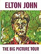 Elton John signed Big Picture Tour programme. Good
