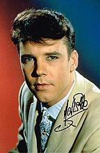 Marty Wilde Signed 12 X 8 Signed music photo. Good