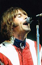 Liam Gallagher Oasis Signed 12 X 8 Signed photo.