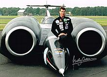 Andy Green Land Speed Record Holder 12 X 8 signed