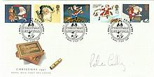 Peter Bruce Lilley signed Xmas FDC 1997. Only 7