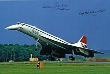 Jeremy and Neil Rendell Concorde Pilots 12 X 8