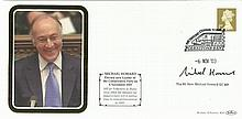 Michael Howard signed Benham 2003 cover Comm his