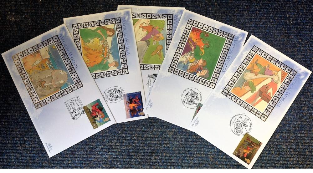 FDC collection of 4 Benham covers Magical Worlds BS31-35 various PM 21st July 1998. We combine