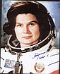 Valentina Tereshkova Autograph. The first woman in