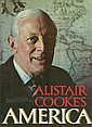 Alistair Cookes America hardback book signed by