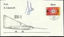 Cosmonaut signed Unusual 1973 Russian DM-1 orbital