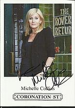 Coronation Street signed photographs 2. Six 6 x 4
