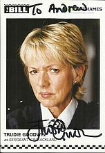 Police TV signed photos Seven 6 x 4 promo photos