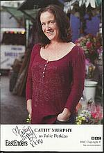 Eastenders signed photographs. Eleven 6 x 4 colour