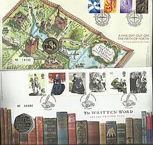 Royal Mail Coin Cover PNC FDC collection. 2 cover