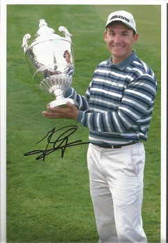 Golf Autographed Photo Collection. Six individual