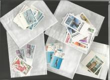 Assorted Stamps Collection. A bag of well over 100