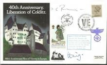 Colditz POWs Major Pringle and Earl Haig signed co