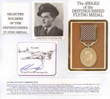 Excellent signature of Bomber Command Flight Engin