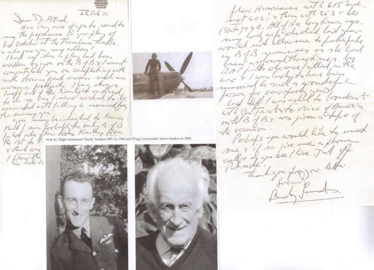 Excellent two-page handwritten letter and signatur