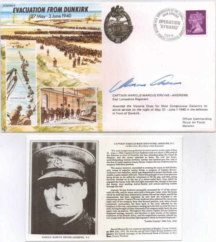 JS WW2 series FDC commemorating the Evacuation fro