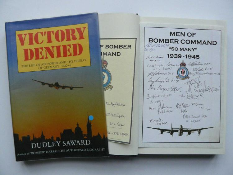 Victory Denied by Dudley Saward published 1985, ha