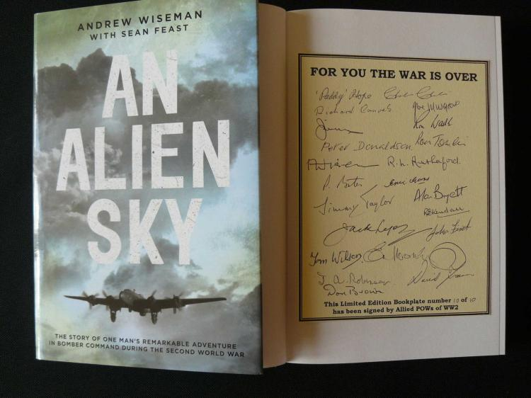 An Alien Sky by Andrew Wiseman with Sean Feast pub
