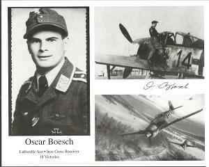Oscar Boesch signed 10x8 b/w photo Good condition.
