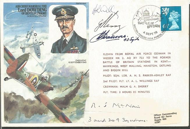 Wg Cdr Herbert Hallows DFC and R Mc Nair Battle of