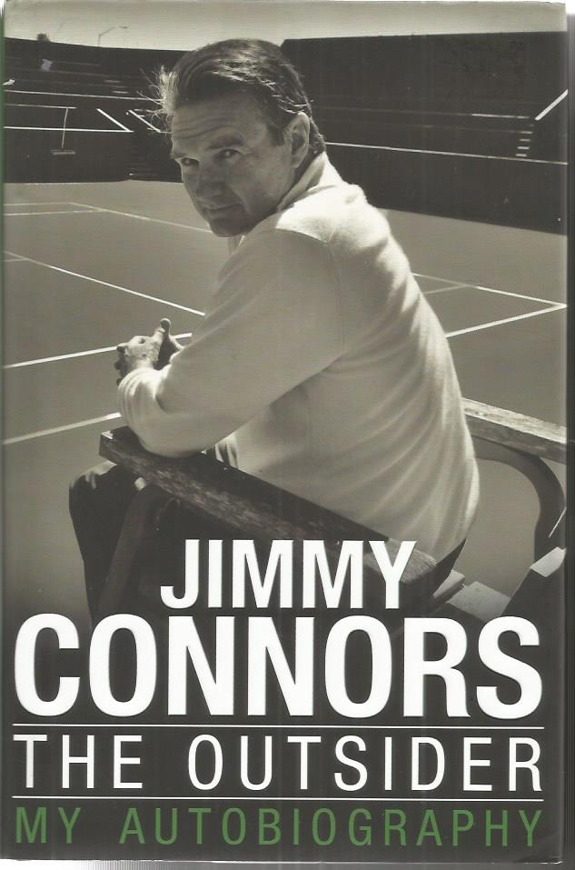 Jimmy Connors signed The Outsider my autobiography