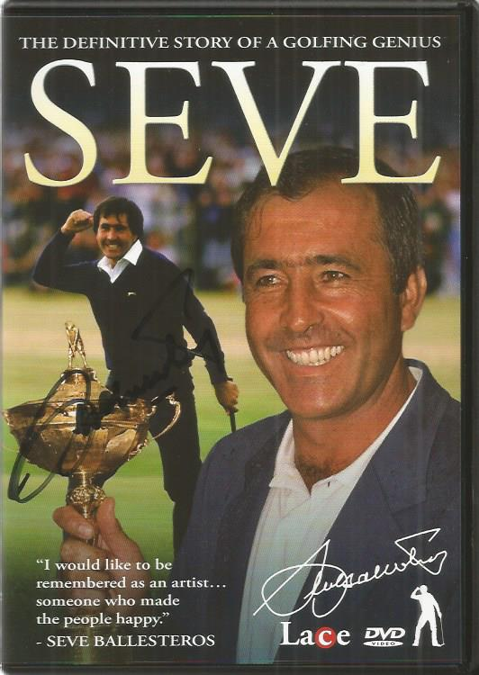 Seve Ballesteros signed The definitive story of a