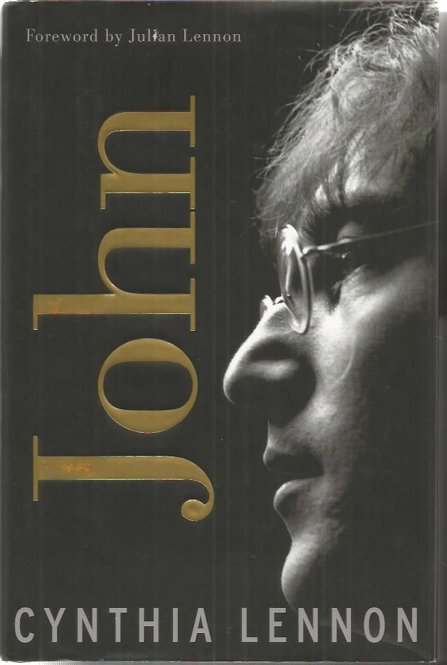 Cynthia and Julian Lennon signed John hardback boo